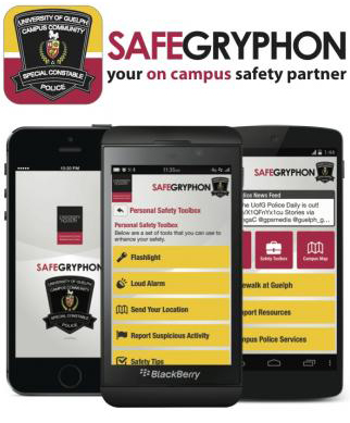 SafeGryphon your on campus safety partner