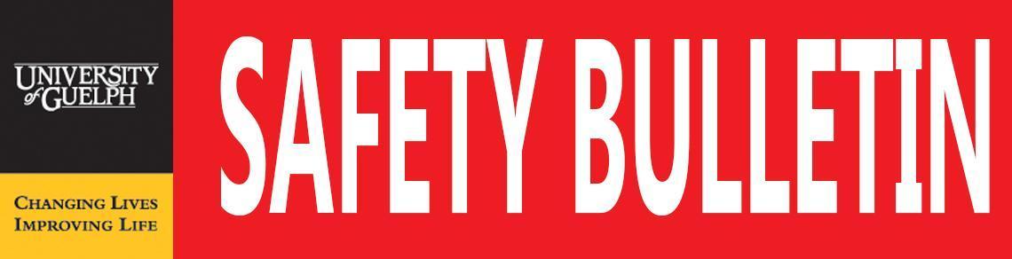 Safety Bulletin banner