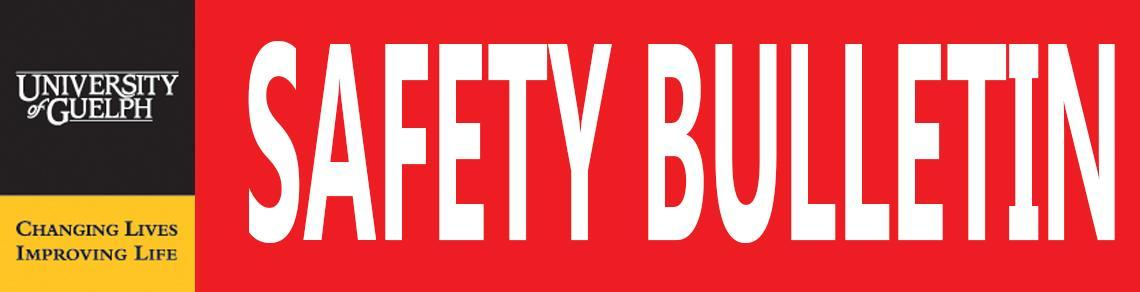 Safety Bulletin banner
